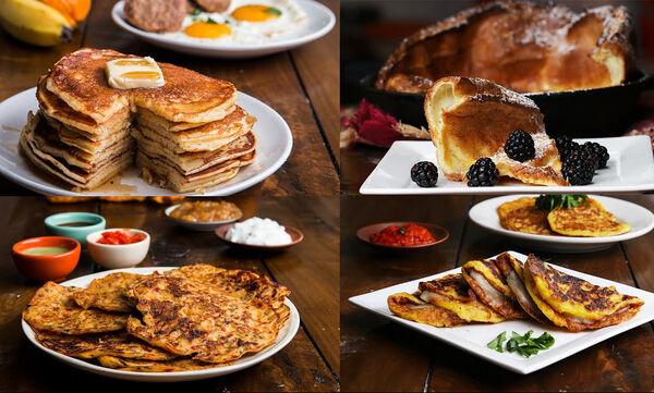 Επτά συνταγές για αφράτα pancakes (vid)