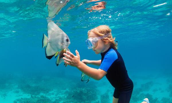 Σετ κατάδυσης για παιδιά που λατρεύουν την εξερεύνηση στο βυθό