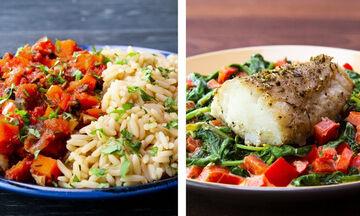 Πεινάσατε; Σας προτείνουμε έξι συνταγές για βραδινό με λίγες θερμίδες (vid)