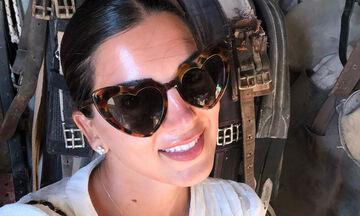Σταματίνα Τσιμτσιλή: Δείτε τι έκανε στην Πάρο με τα παιδιά της και ενθουσιάστηκε (vid+pics)