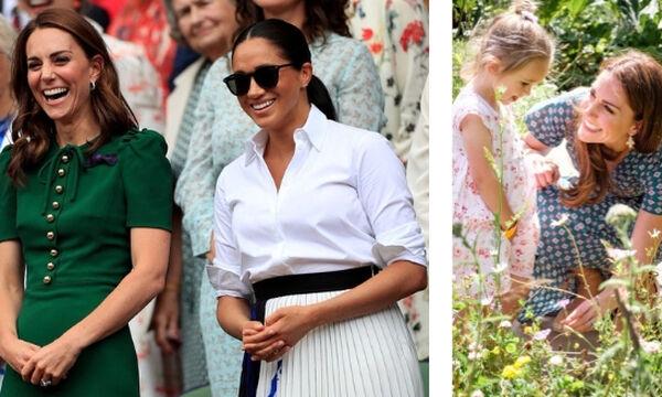 Kate Middleton: Δείτε τις ωραιότερες καλοκαιρινές εμφανίσεις της (pics)