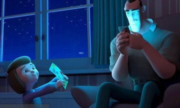 «Distracted»: Όταν ο γονιός είναι κολλημένος στο κινητό του - Το animation που πρέπει να δείτε (vid)