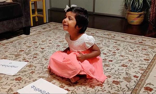 Απίστευτο και όμως αληθινό! Αυτό το κοριτσάκι λεει «γεια» σε 25 διαφορετικές γλώσσες! (vid)