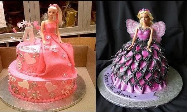 Πέντε εντυπωσιακές τούρτες Barbie σε ένα video - Δείτε πώς θα τις φτιάξετε (vid)