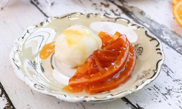 Φτιάξτε νόστιμο και λαχταριστό γλυκό του κουταλιού πορτοκάλι