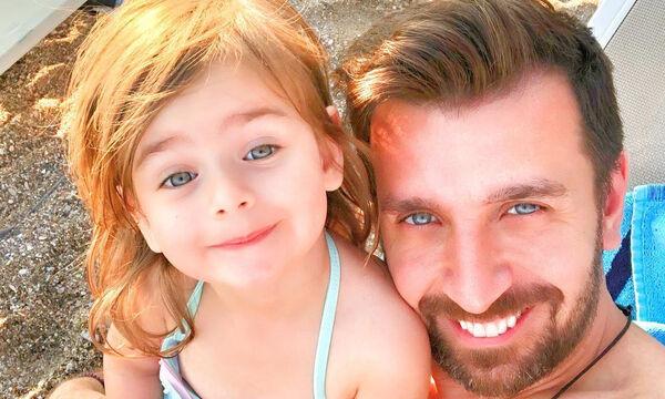 Θάνος Πετρέλης: Το αξιολάτρευτο βίντεο με την μικρότερη κόρη του Ζένια (vid+pics)