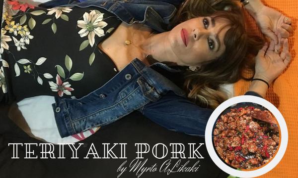 Η συνταγή της Μυρτώς Αλικάκη για Teriyaki pork (pics)