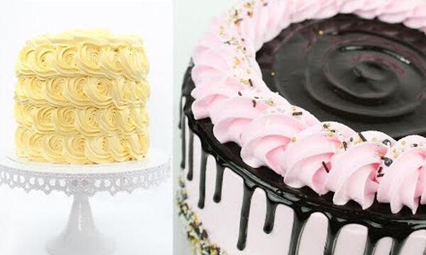5 πανεύκολοι τρόποι διακόσμησης της τούρτας γενεθλίων για αρχάριους (vid)