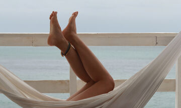 Ξηρές φτέρνες μετά την παραλία: Πώς θα τις ενυδατώσετε