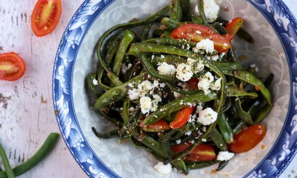 Συνταγή για νόστιμη και λαχταριστή σαλάτα με αμπελοφάσουλα