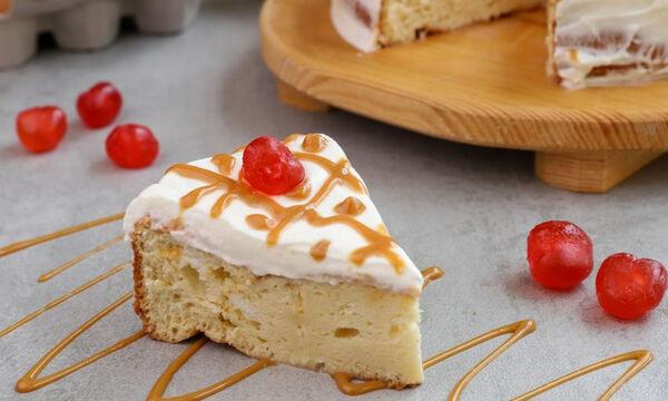 Tres leches cake ή αλλιώς συνταγή για κέικ με τρία γάλατα