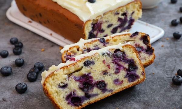 Blueberry cake - Το τέλειο συνοδευτικό για το απογευματινό καφεδάκι σας