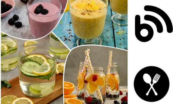 Smoothies, χυμοί και detox water: Γιατί να τα εντάξω στη διατροφή μου;