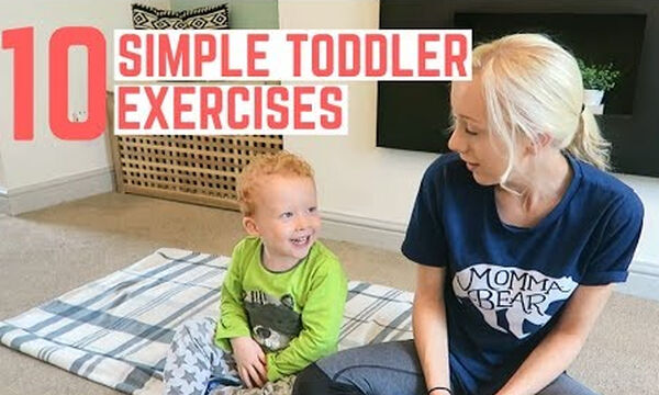 Γυμναστική με το νήπιο - 10 ασκήσεις που θα απολαύσετε και οι δύο (vid)