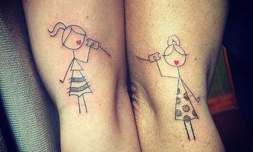 Είκοσι πέντε υπέροχες ιδέες για τατουάζ που μπορεί να κάνει μια μαμά με την κόρη της (pics)