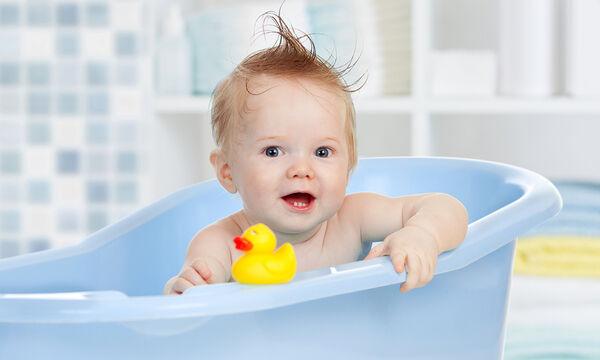 Βασικά tips για να αγαπήσει το μωρό σας την ώρα του μπάνιου