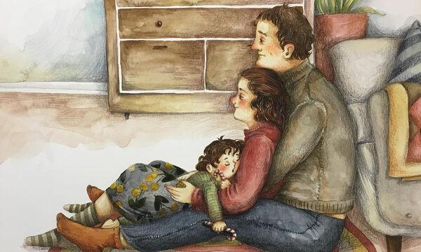 H πατρότητα μέσα από 10 υπέροχα σκίτσα της Soosh (pics)