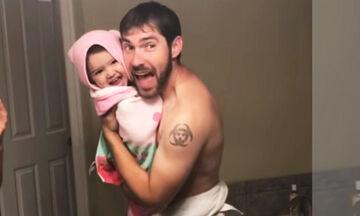 Δείτε γιατί αυτό το βίντεο με τον μπαμπά και την κόρη έχει πάνω από 8 εκατ. views (vid)