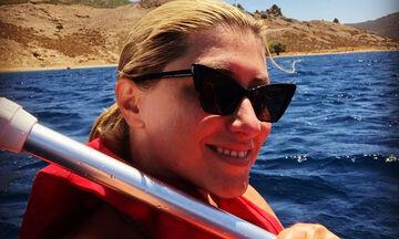 Σία Κοσιώνη: Η ιδιαίτερη φωτογραφία από τις διακοπές της λίγο πριν επιστρέψει στην τηλεόραση (pics)