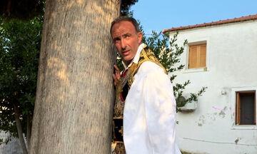 Νίκος Αλιάγιας: Με φουστανέλα σε πανηγύρι στο Μεσολόγγι (pics + vids)