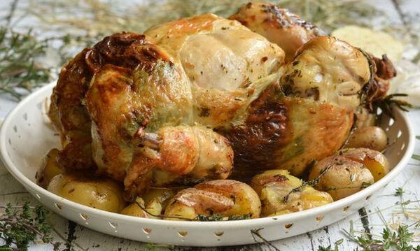 Συνταγή για νόστιμο κοτόπουλο με μεσογειακό κριθαρώτο