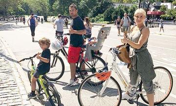 Οικογένεια Χανταμπάκη: Οι νέες φωτογραφίες & τα βίντεο από τις διακοπές τους στη Νέα Υόρκη