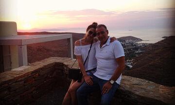 Φαίη Μαυραγάνη - Νίκος Μάνεσης: Φωτογραφίες από τις διακοπές τους (pics)
