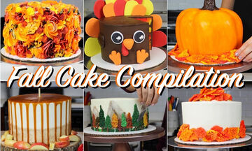 Φθινοπωρινό πάρτι γενεθλίων; Βρήκαμε τις πιο υπέροχες τούρτες (vid)