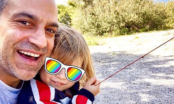 Κατερίνα Καραβάτου - Κρατερός Κατσούλης: Δε φαντάζεστε τι άθλημα ξεκίνησε ο γιος τους (pics)