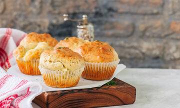 Κολατσιό για το σχολείο: Muffin με κουνουπίδι και τυρί