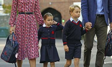 Η πρώτη μέρα στο σχολείο για τον πρίγκιπα George & την πριγκίπισσα Charlotte - Δείτε φωτογραφίες!
