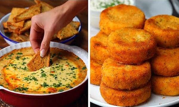 Δέκα λαχταριστές συνταγές για απογευματινό σνακ των παιδιών (vid)