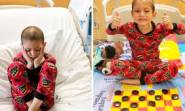 Αυτό που έφτιαξε για τα άρρωστα παιδιά πραγματικά μας εντυπωσίασε (pics)