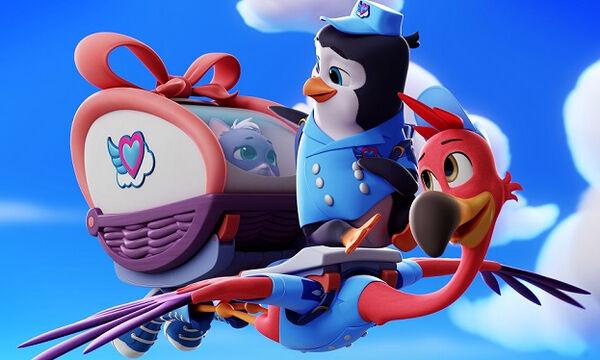 Πετάμε με τα Τ.Ο.Τ.Σ.!  Καθημερινά στις 17:30 στο Disney Junior