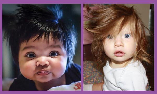 Aυτά είναι τα μωρά με τα πιο περίεργα μαλλιά στον κόσμο - Δείτε τις φωτογραφίες (pics)