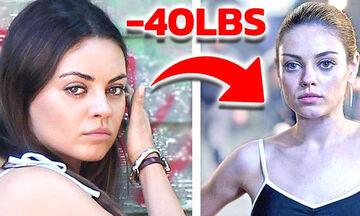 Ποιοι διάσημοι ηθοποιοί έκαναν εξαντλητικές δίαιτες για τις ανάγκες ενός ρόλου (vid)