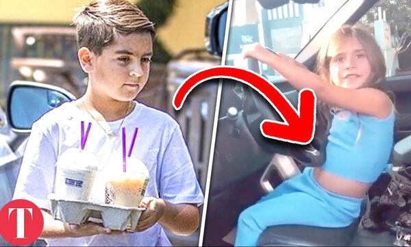 Δέκα πράγματα που τα παιδιά των Kardashians είναι υποχρεωμένα να κάνουν (vid)