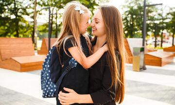 Μαθήματα που παίρνουν οι μαμάδες όταν τα παιδιά τους πηγαίνουν για πρώτη φορά σχολείο