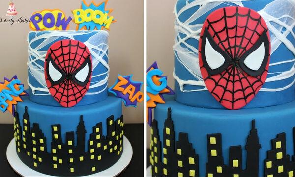 Δείτε πώς θα φτιάξετε βήμα-βήμα την πιο εντυπωσιακή τούρτα Spiderman (vid)