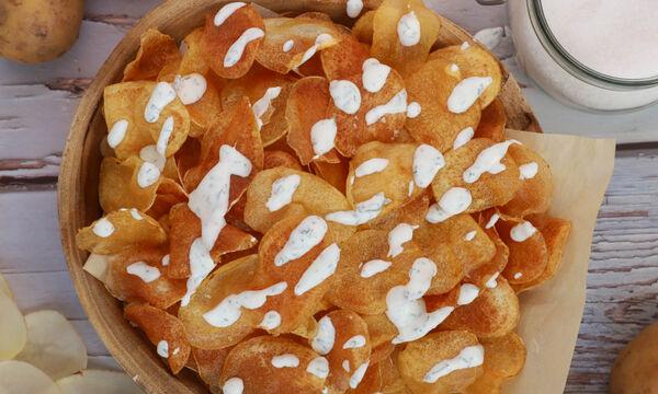 Δείτε πώς θα φτιάξετε λαχταριστά chips πατάτας