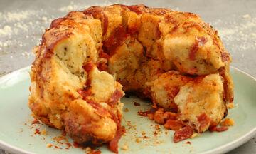 Συνταγή για pizza monkey bread