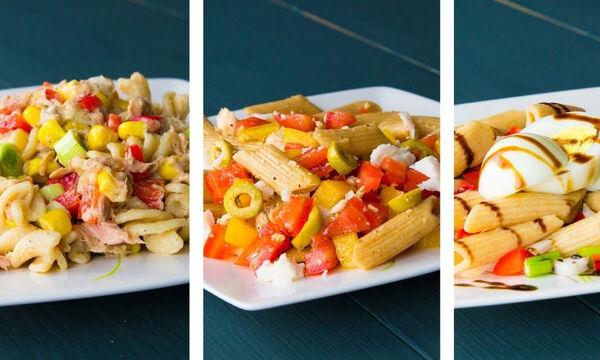 Δίαιτα με ζυμαρικά: Τρεις συνταγές με λίγες θερμίδες για να χάσετε βάρος (vid)