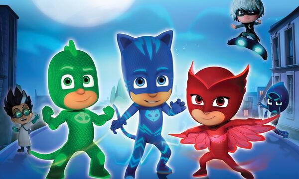 PJ Masks: Γνωρίστε από κοντά τους αγαπημένους ήρωες των μικρών σας!