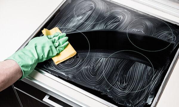 Καθαρίστε την κεραμική εστία της κουζίνας σας εύκολα & γρήγορα με φυσικά υλικά (vid)