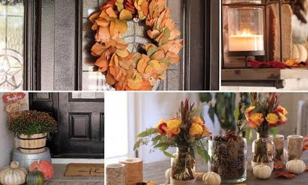 Φθινοπωρινή διακόσμηση: Ήρθε η ώρα να ανανεώσετε το σπίτι σας (vid)