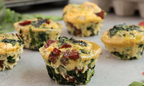 Συνταγή για λαχταριστές ομελέτες Muffins