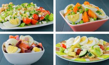 Τέσσερις συνταγές με βραστά αυγά για να χάσετε βάρος (vid)