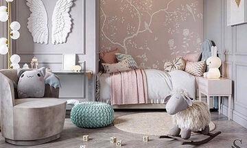 Δεκαπέντε φανταστικές ιδέες διακόσμησης για το παιδικό δωμάτιο (pics)