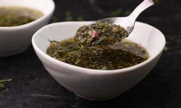 Δες πως θα φτιάξεις και εσύ στο σπίτι σπιτική chimichurri sauce