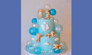Οι πιο ευφάνταστες τούρτες για τα πρώτα γενέθλια του γιου σας (vid)